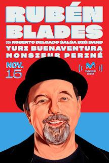 Concierto de RUBÉN BLADES en Bogotá