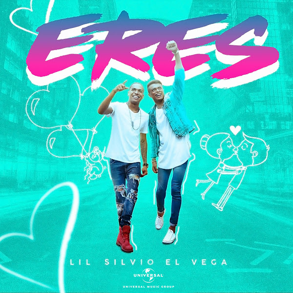 Lil Silvio & El Vega - Eres - Single Cover