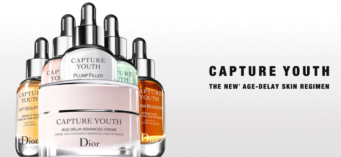 Beauty: Dior lancia Capture Youth, il nuovo protocollo di giovinezza antiossidante