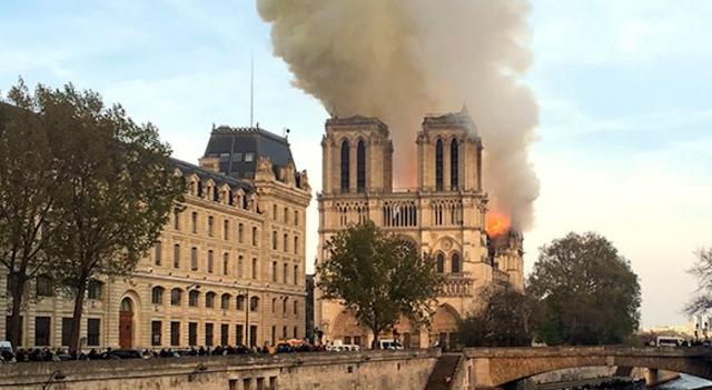 Notre Dame: An Omen