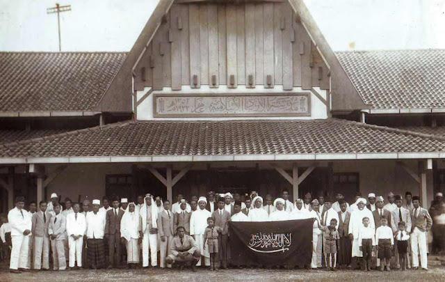 Foto Tahun 1935: Bendera Tauhid Al Irsyad Al Islamiyah, Salah Satu Ormas Pejuang Kemerdekaan
