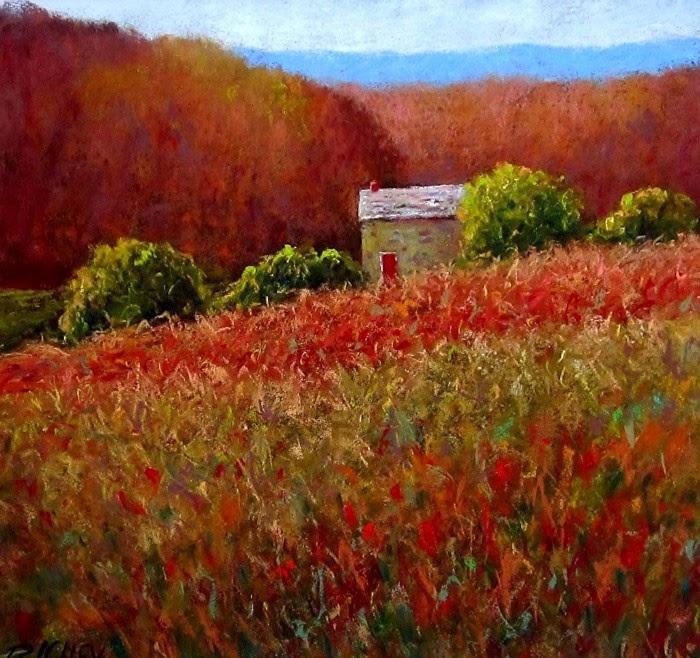 Картины пастелью. Bob Richey