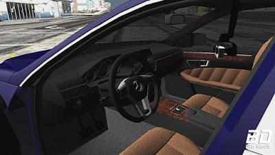 Mod, Carro, Mercedes E250 NOYAN para GTA San Andreas, GTA SA