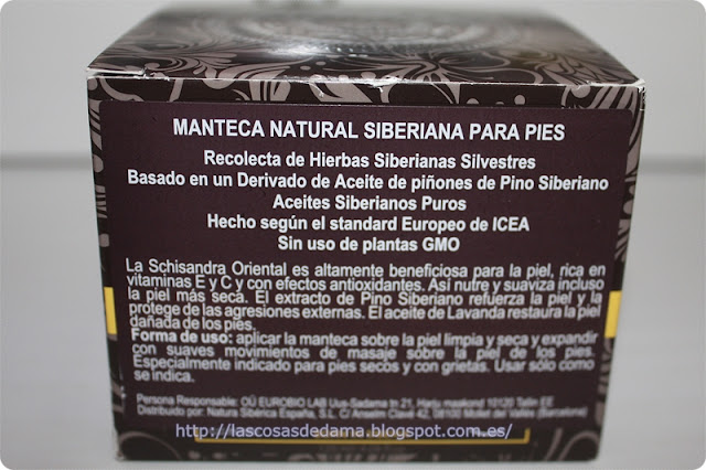 Natural Siberian Foot Butter Sauna & Spa Natura Siberica