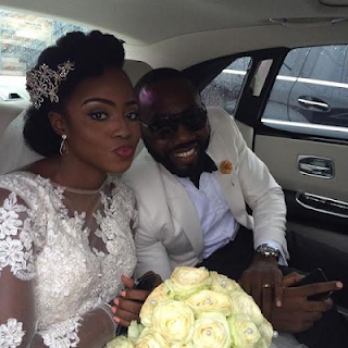 Former BBA Reps, Nkenna, Uti, Kevin Chuwang Pam and Wife, Elizabeth at Geraldine Iheme's Wedding (Pictures)