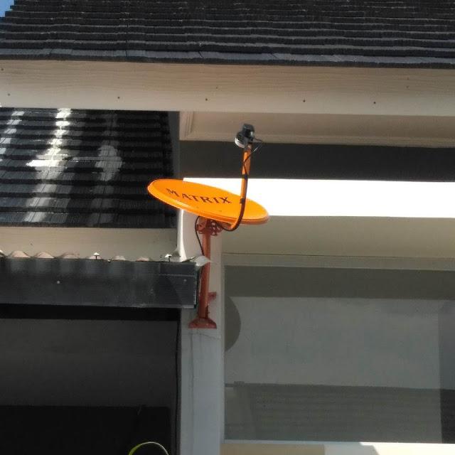 parabola mini matrix warna orange