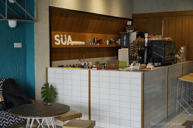 Mengunjungi kedai SUA Coffee di Demangan