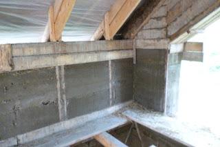 Штукатурка - деревянный каркас biohouse.com.ua