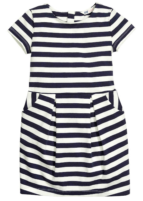 H&M Striped Jersery Dress