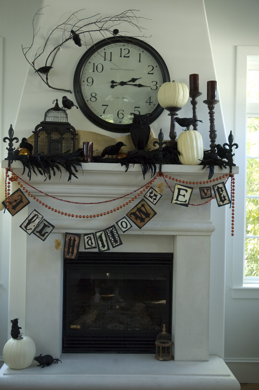 Charmed I M Sure Halloween 2011 Mantel