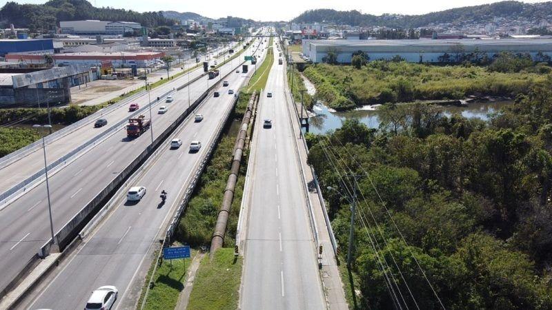 SC prevê criação de rodovia estadual entre Joinville e Biguaçu