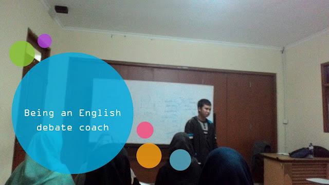 Saya Diundang Menjadi Pelatih Debat Bahasa Inggris Oleh Himpunan Mahasiswa Fakultas Agama Islam UHAMKA
