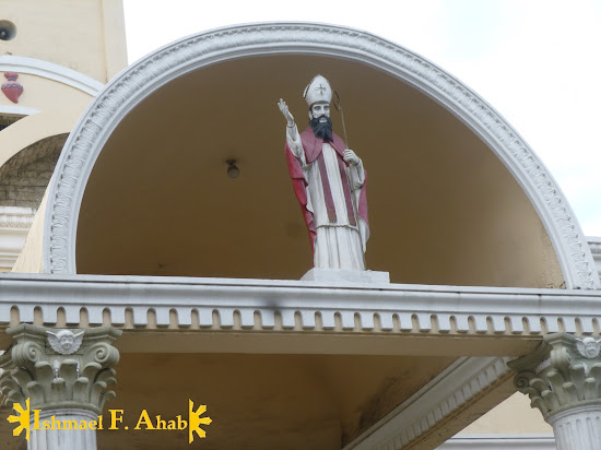 Image of St. Narcissus in Consolacion Church in Consolacion, Cebu