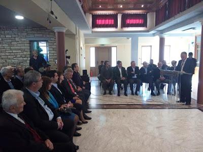 Η ομιλία του Αλέκου Πάσχου στην κοπή της πίτας του Επιμελητηρίου Θεσπρωτίας