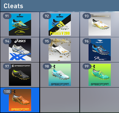 PES 2016 Boots