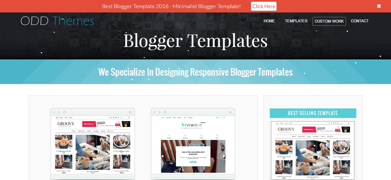 Top 10 Best Blogger Template Designer Sites in 2017 - Sora ...