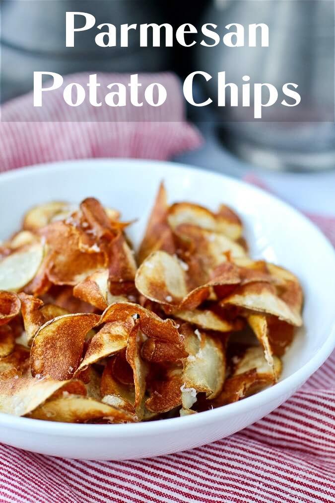 Parmesan potato chips