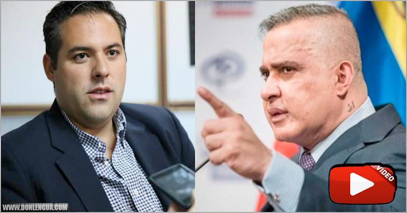 Tarek William Saab toma venganza y ordena la detención de Yon Goicoechea
