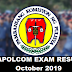 Police Officer (4th Class) Passers - October 2019
