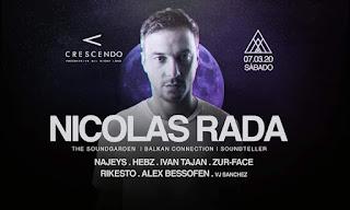 NICOLAS RADA ¡Por primera vez en Colombia!