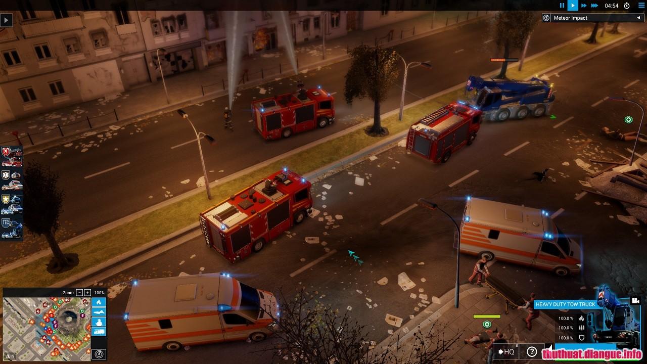 Emergency 20 Simulator