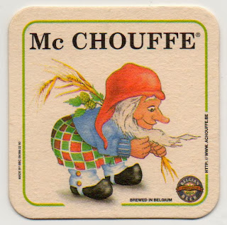 sous-bock de la bière belge Mc Chouffe