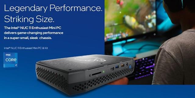 Intel NUC 11 Mini PCs