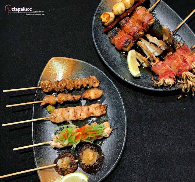 Yakitori Sets from Tori Ichi BGC