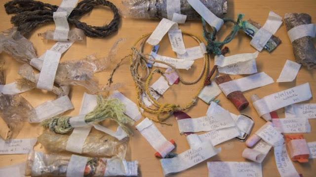 Plastic pollution reaching Antarctica