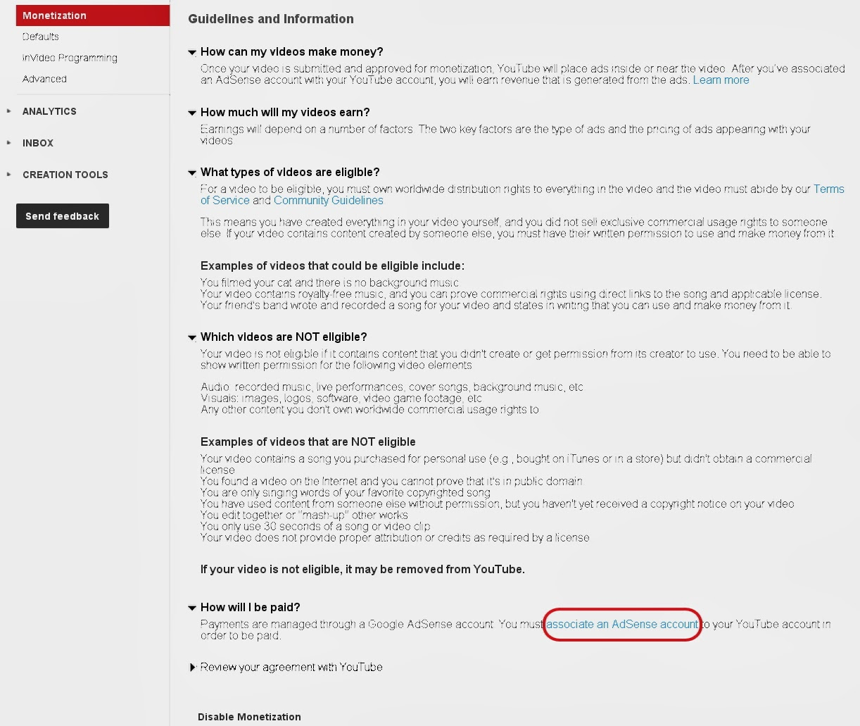 Helpful Information for Newbies: Reapplying For Adsense