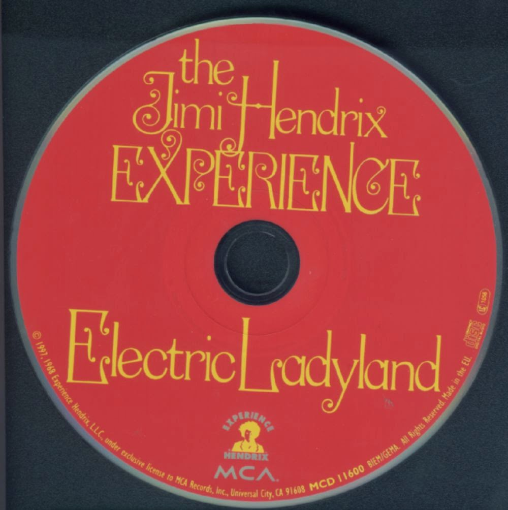 Popn Underground Music: Jimi Hendrix 1968