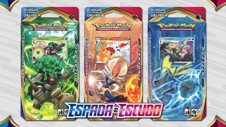 Pokémon Decks Espada e Escudo