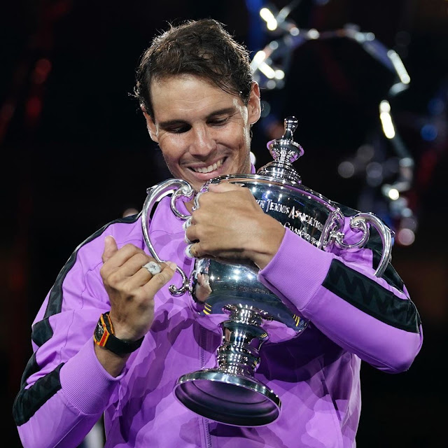 US Open: Libas Daniil Medvedev, Rafael Nadal Sabet Gelar Juara Tunggal Putra