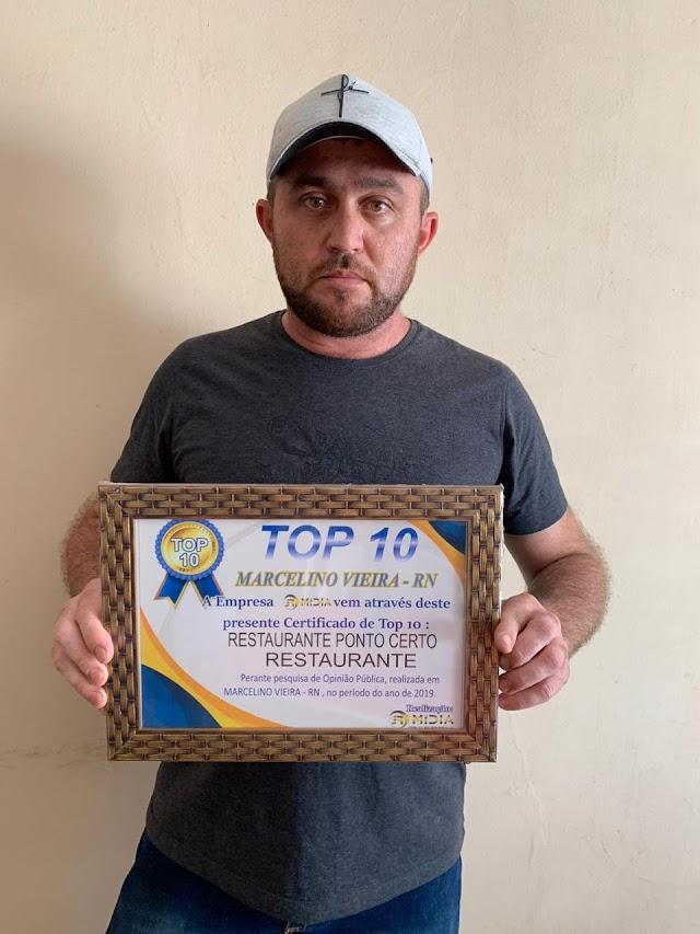 Pesquisa de opinião pública classifica as melhores empresas e serviços de Marcelino Vieira