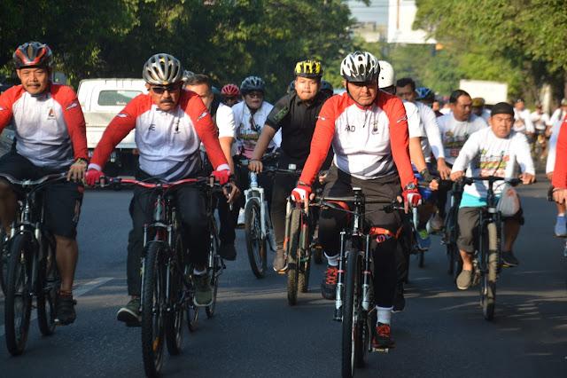 Pangdam IV Turut Meriahkan Pit-pitan HUT Bhayangkara di Kota Solo