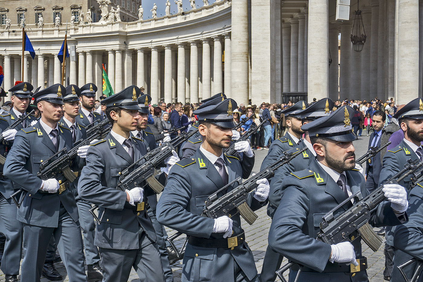 Easter Parade at The Vatican