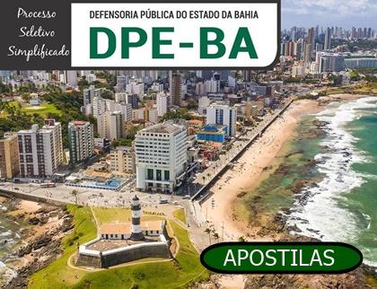 Apostila DPE BA 2018 Processo Seletivo Simplificado