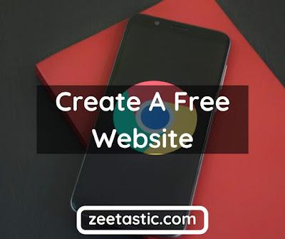 Create a free website | Google My Business Website | Zeetastic