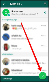 Cara Membuat Video Boomerang di Status WhatsApp