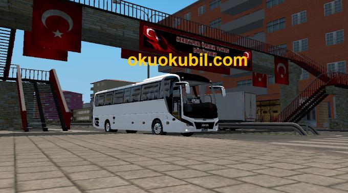 ETS2 Man Lion's Yeni Coach E6 Otobüs Modu 1.30 (Kapı Animasyonlu)