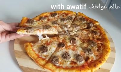 بيتزا المطاعم بالطريقة الإيطالية