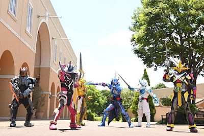 Kamen Rider Saber Episode 44 Title & Description