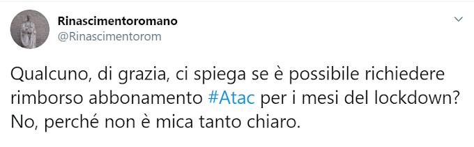 Regione Lazio: Si al rimborso degli abbonamenti