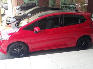 Honda Jazz Limited, Sedang dalam proses PDI untuk segera di kirim ke konsumen