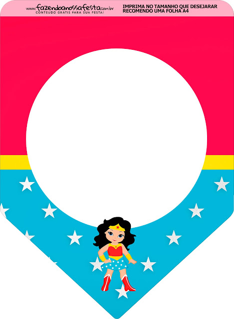 Wonder Woman Party Free Party Printables.