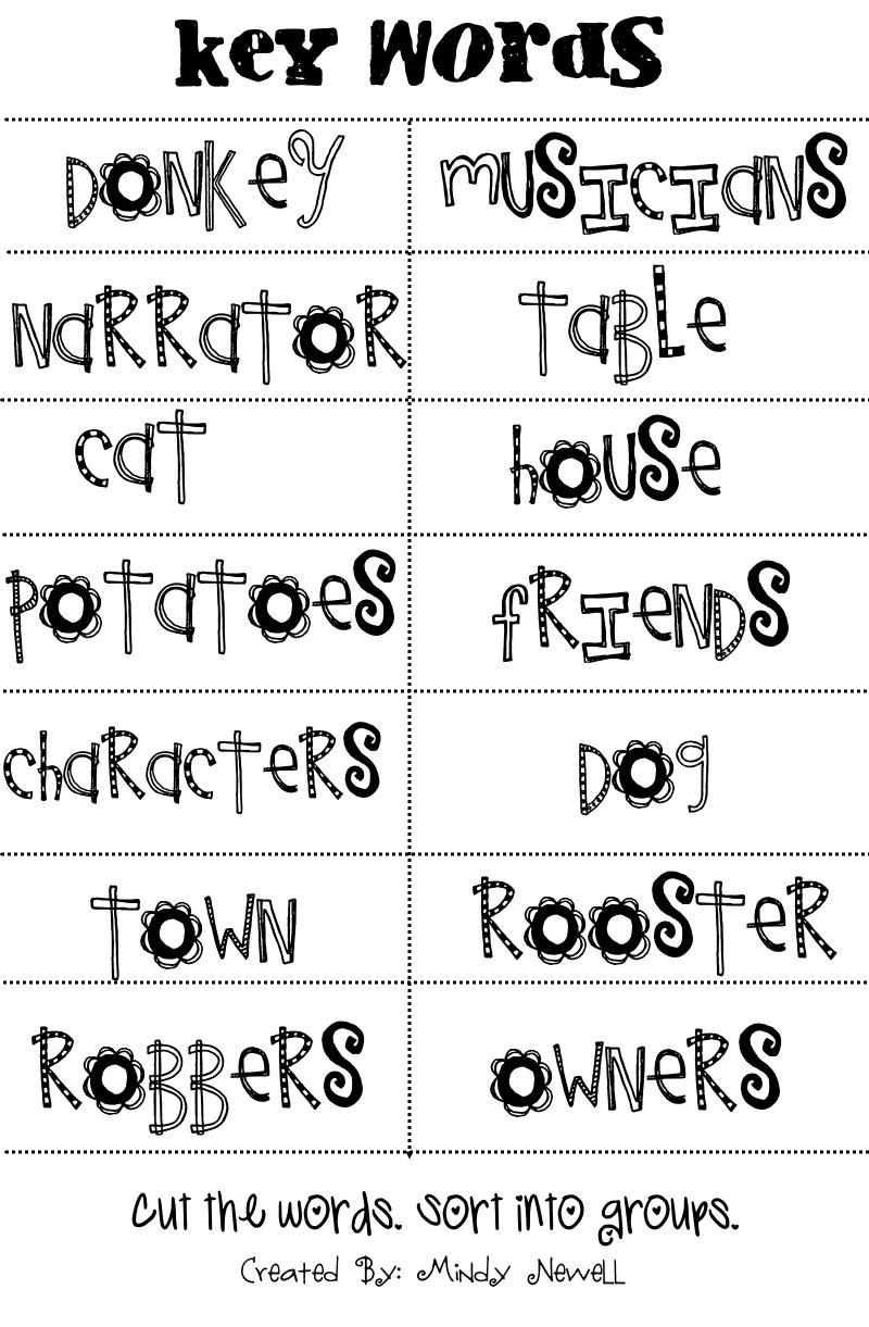 iintegratetechnology Bremen Town Musicians – Cause and Effect Worksheets for 2nd Grade