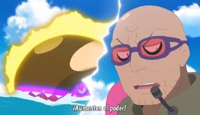 Pokemon Sol y Luna Capitulo 120 Temporada 20 ¿Suiren pesca un Kyogre?