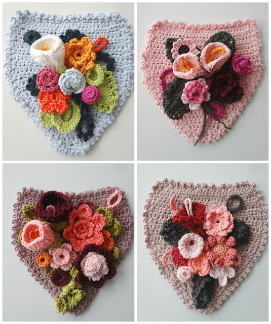 Floral Banners – crochet pattern