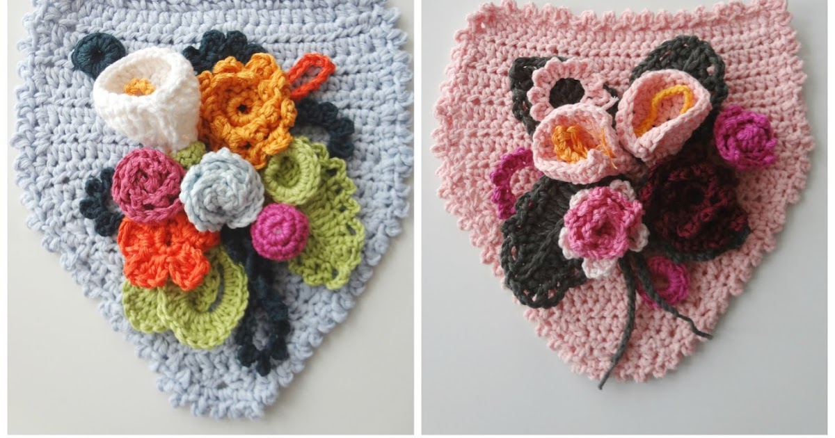 Little Treasures Floral Banners Crochet Pattern
