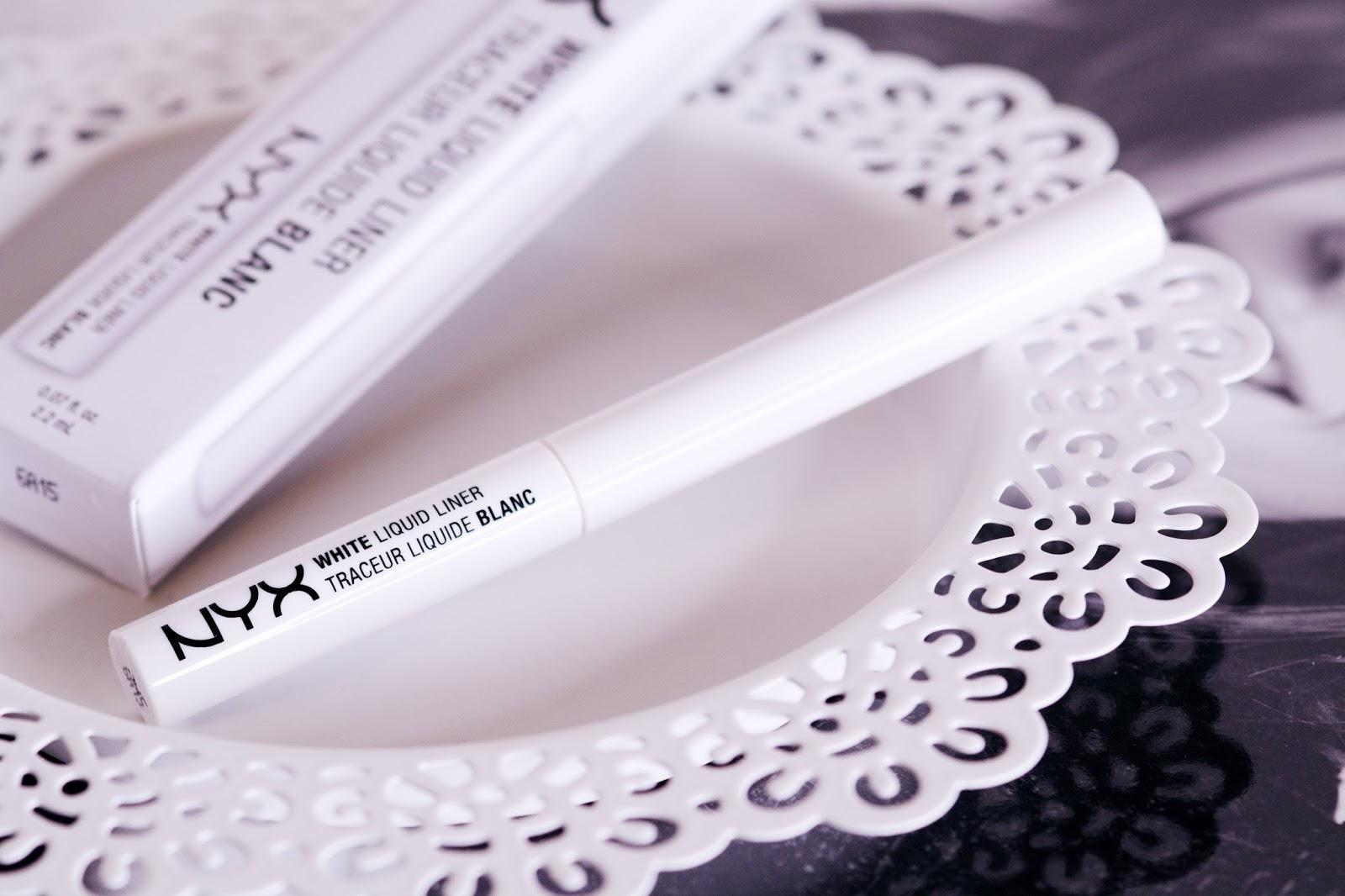 NYX Liquid linere White